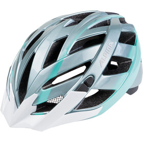 Alpina Panoma Helmet steelgrey-smaragd